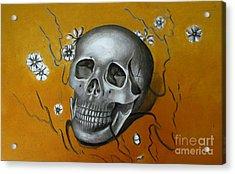 Mortality Acrylic Print by Iglika Milcheva-Godfrey