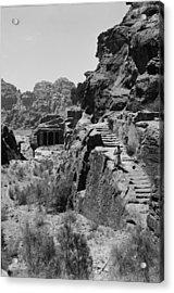 Mount Sinai, Trans-jordan. Petra Acrylic Print by Everett