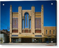 Movie Theaters, Missouri Theater Acrylic Print by Everett