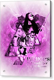 Music Acrylic Print by Andre Samuels