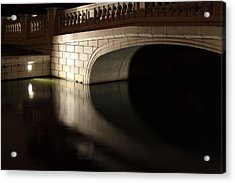 Acrylic Print featuring the photograph Mystery Bridge by Scott Rackers