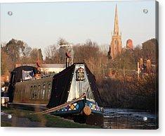 Narrow Boat Acrylic Print