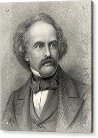 Nathaniel Hawthorne 1804 64 American Photograph By Everett