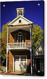 Nevada City Fire Station Acrylic Print by Sherri Meyer