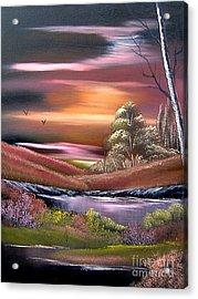 Neverland Acrylic Print by Cynthia Adams
