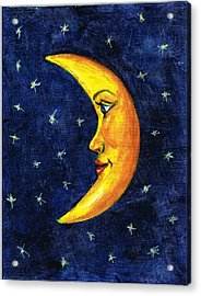 New Moon Acrylic Print