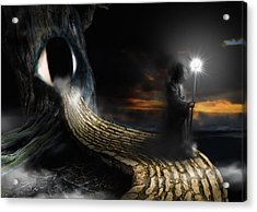 Night Guard Acrylic Print
