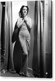 Norma Shearer, Mgm Photograph Acrylic Print by Everett