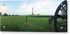 Ny Monument Antietam Acrylic Print by Jan W Faul