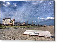 Ocean City Beach Acrylic Print