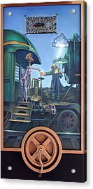 Of Thee I Sing The Body Electric Acrylic Print by Patrick Anthony Pierson