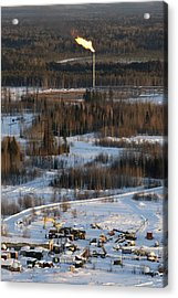 Oil Field Acrylic Print by Ria Novosti