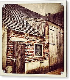 Old Farm Building Acrylic Print