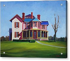 Old House Acrylic Print by Robert Henne