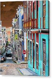 Old San Juan 14 Acrylic Print