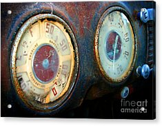 Old Speed Acrylic Print