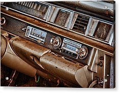 Oldsmobile Acrylic Print by Richard Steinberger