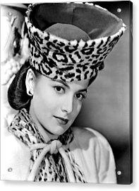 Olivia De Havilland, 1943 Acrylic Print by Everett