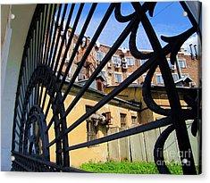 On Street Peterburg Acrylic Print by Yury Bashkin