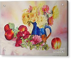 Acrylic Print featuring the painting Once Upon A Summer by Beatrice Cloake