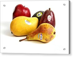 Organic Produce Acrylic Print by Photo Researchers