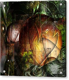 Other World Acrylic Print by Monroe Snook