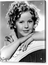 Our Little Girl, Shirley Temple, 1935 Acrylic Print by Everett