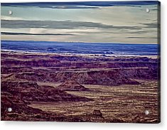 Painted Valley 2 Acrylic Print by Dennis Sullivan
