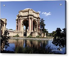 Acrylic Print featuring the photograph Palace Of Fine Arts by Denise Pohl