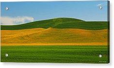 Palouse Panorama Acrylic Print by Winston Rockwell