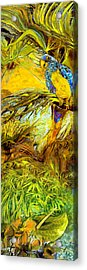 Parrot Acrylic Print by Anne Weirich
