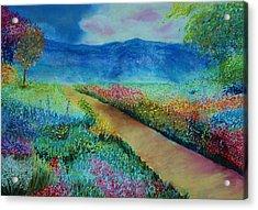 Patricia's Pathway Acrylic Print