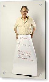 Paul J. Crutzen, Dutch Chemist Acrylic Print by Volker Steger