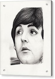 Paul Mccartney Acrylic Print