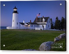 Pemaquid Point Lighthouse Acrylic Print by Brian Jannsen