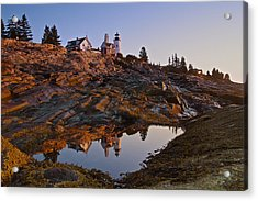 Pemaquid Point Lighthouse Acrylic Print