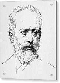 Peter Ilich Tchaikovsky Acrylic Print by Granger