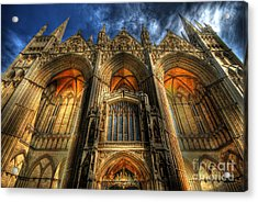 Peterborough Cathedral Acrylic Print