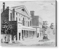 Philadelphia: Theater Acrylic Print by Granger