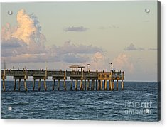 Pier Acrylic Print by Blink Images