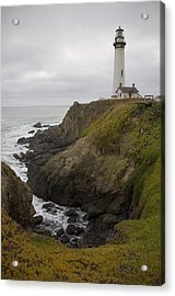 Acrylic Print featuring the photograph Pigeon Point Lighthouse by Mike Irwin