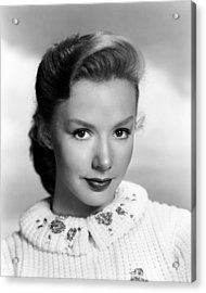 Piper Laurie, 1952 Acrylic Print by Everett