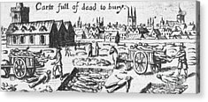 Plague, 1665 Acrylic Print by Science Source