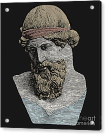 Plato, Ancient Greek Philosopher Acrylic Print by Science Source