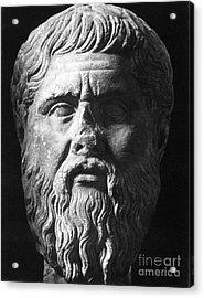 Plato (c427 B.c.-c347 B.c.) Acrylic Print by Granger