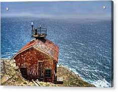 Point Reyes Lighthouse Acrylic Print by Diego Re