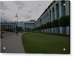Acrylic Print featuring the photograph Poland Supreme Court by Steven Richman