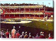 Polo Grounds In New York City 1920's Acrylic Print by Dwight Goss