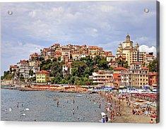 Porto Maurizio - Liguria Acrylic Print by Joana Kruse
