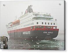 Post Ship  Acrylic Print by Heiko Koehrer-Wagner